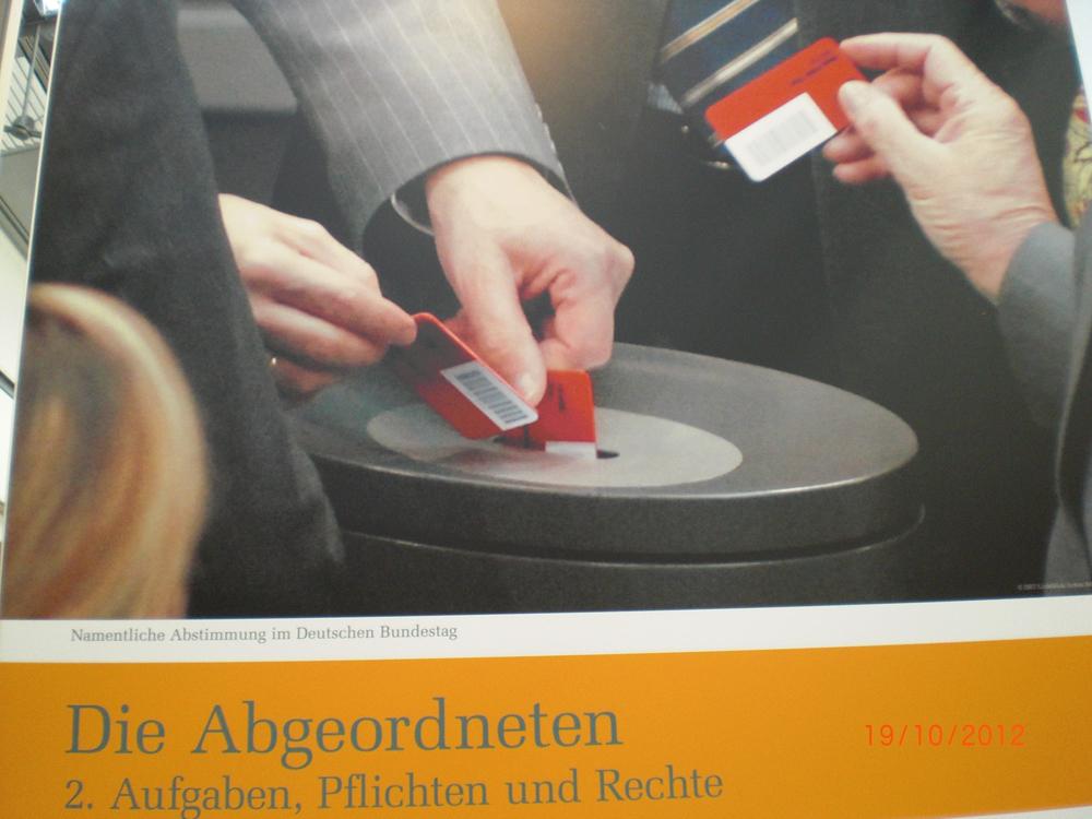 Der Bundestag zu Besuch im Rotmain-Center
